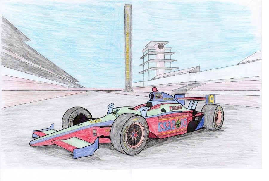 My BSA Indy Car