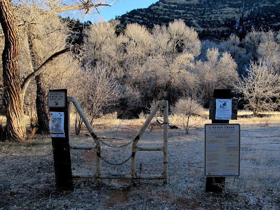 Range Creek trailhead