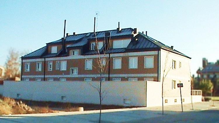 proyecto edificio viviendas fachada oeste