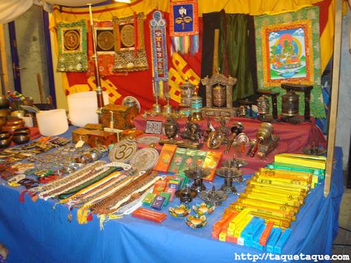 puesto Zen en el mercadillo del mar de Estepona (Málaga), (16 y 17 de julio de 2011)