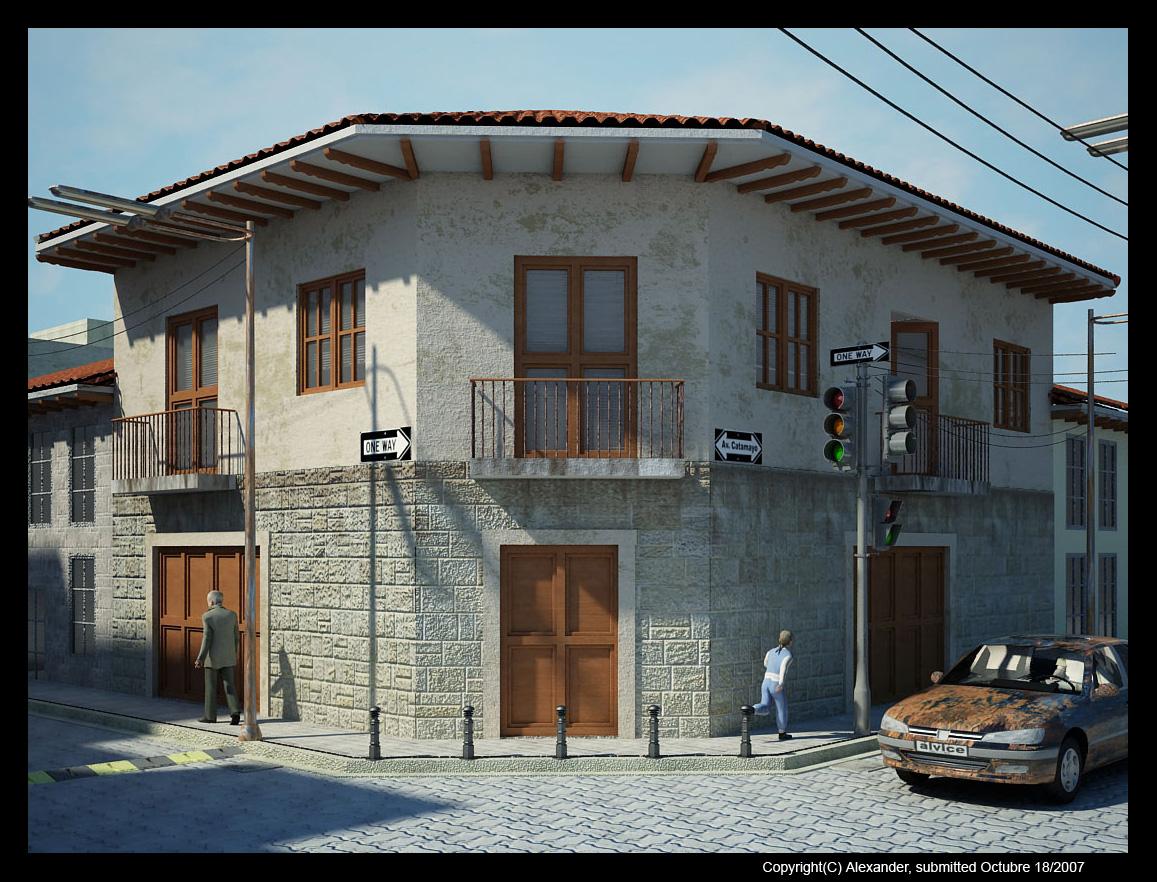 alexander vinicio celi remodelacion casa antigua