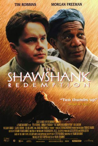 Poster Of The Shawshank Redemption (1994) Full Movie Hindi Dubbed Free Download Watch Online At Alldownloads4u.Com