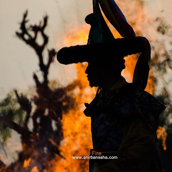Kayged festival, black hat dance, ravangla, Ralang monastery