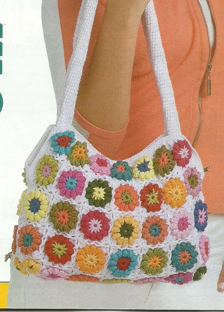 Bolsa Para Carregar Cachorro Em Croche : De tudo um pouco bolsa feita com sobras linhas em croch?