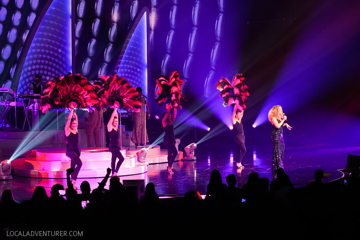 Mariah Carey Residency at Caesars Palace Las Vegas.