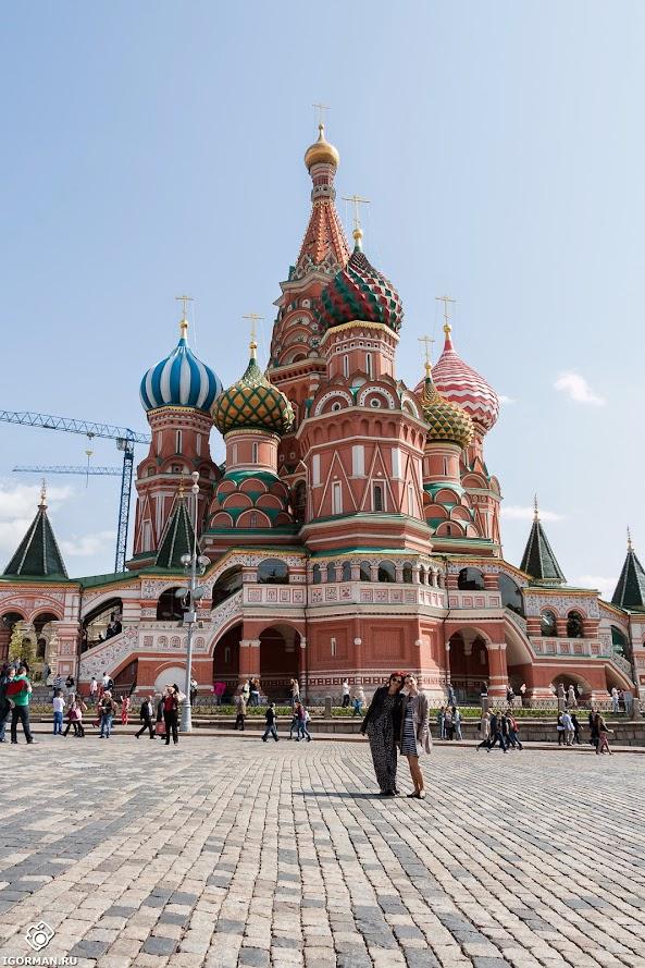 Красивая фотосессия на Красной площади