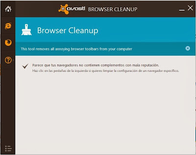 Deja tu navegador limpio como los chorros del oro!