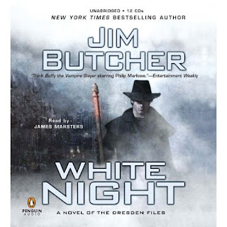 Book Summary: White Night (Dresden Files, Book 9), By Jim Butcher Audiobook Image