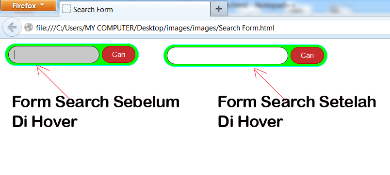Contoh Form Search