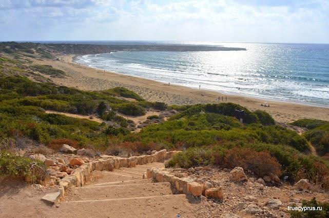 Пляж Лара, Кипр, черепаший пляж, лара, акамас