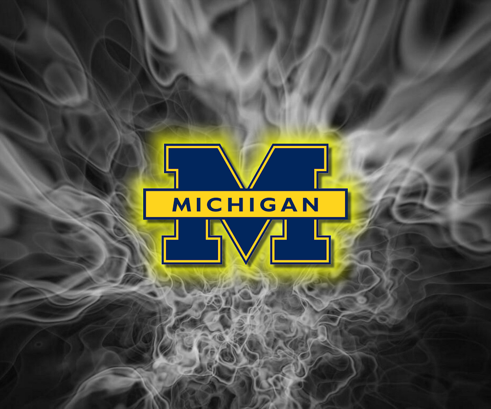 gallery for michigan football logo wallpaper