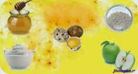 Маска из перепелиных яиц