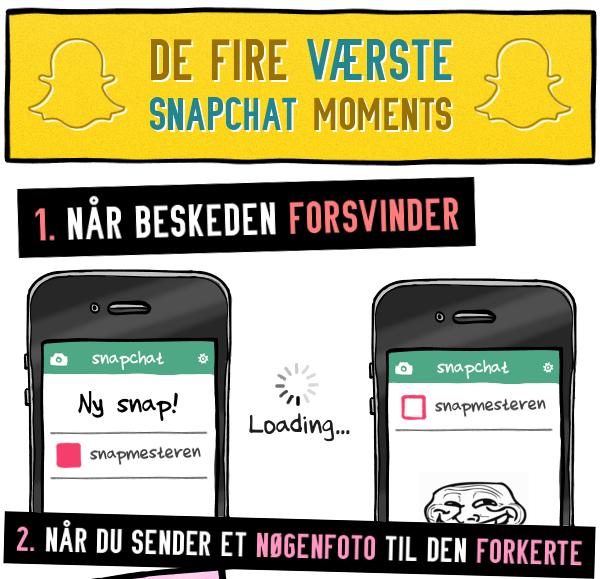STRIBE FRA METROXPRESS: De værste øjeblikke på Snapchat