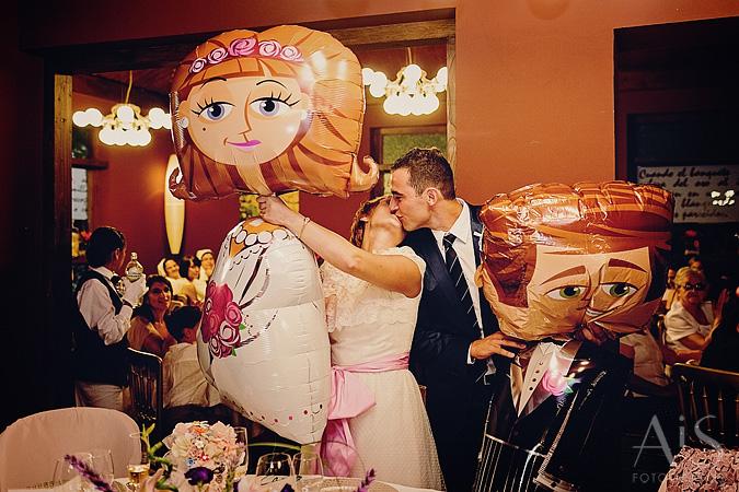 Una boda vintage
