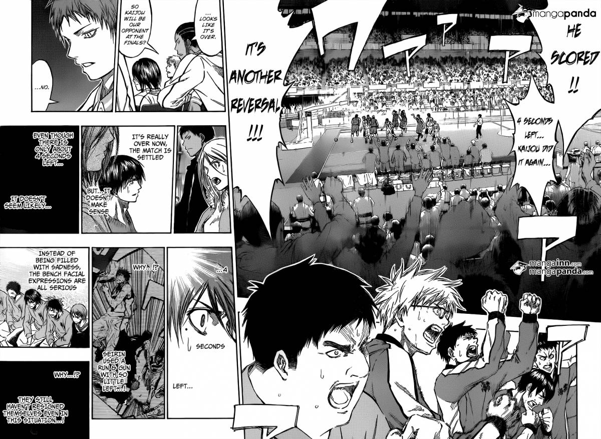 Kuroko no Basket Manga Chapter 202 - Image 04-05