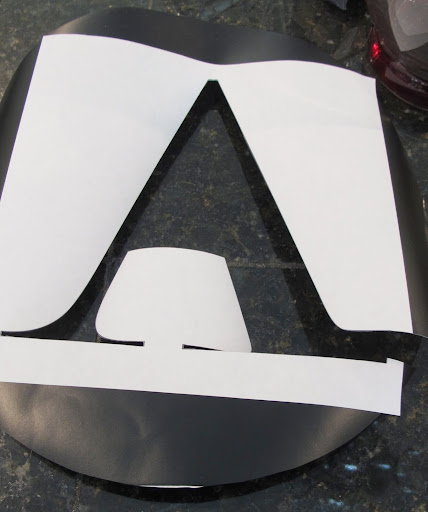 create vinyl monograms without a machine