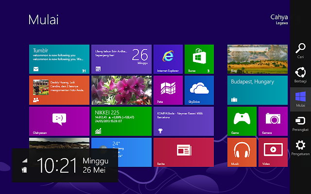 Start Screen Windows 8 Pro