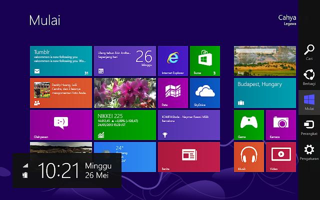 Start Screen Windows 8 Pro
