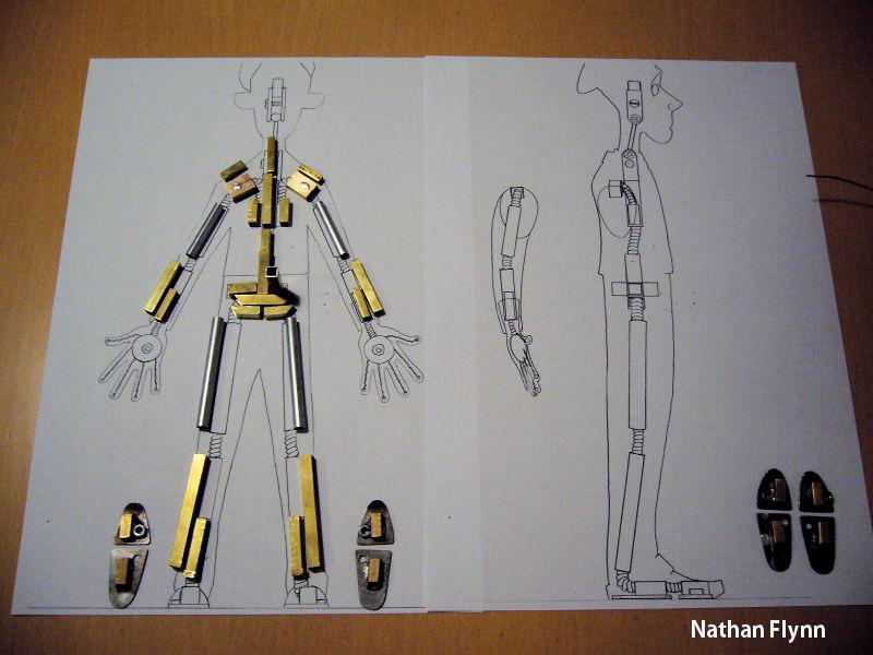 Nathan Flynn: Character Armatures