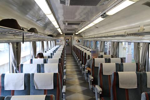 JR北海道 「リバイバルまりも」 4号車 14系座席車 車内