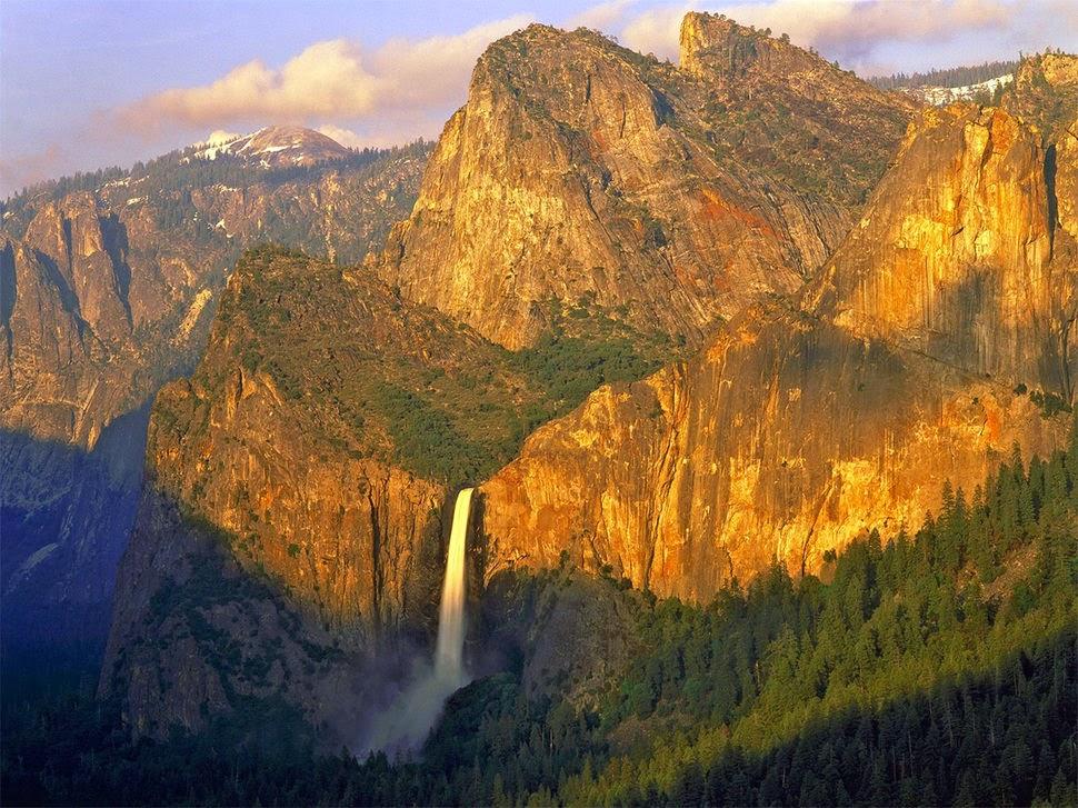 Брайдлвейл, Калифорния, Красивые водопады планеты
