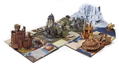 Games of thrones Le guide pop up de Westeros