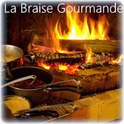 La Braise Gourmande au Havre, spécialité de viande à la cheminée.