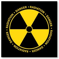 simbolo alerta radiacion