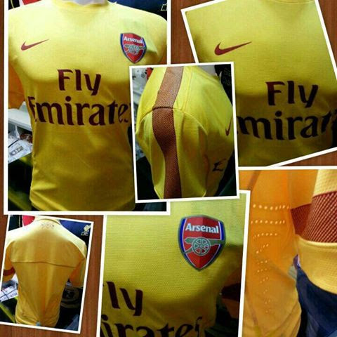 Jual Jersey Arsenal Training Warna Kuning