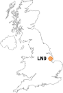 small plain white uk gif map with ln9 target