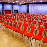 Velký sál při divadelním uspořádání