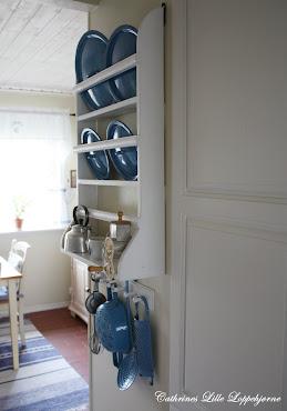 Madam Blå - dekorativt på kjøkkenet!