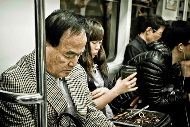 Korea -- Seul, metro..
