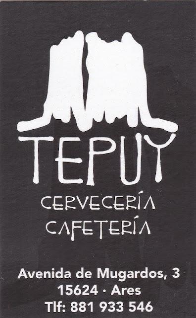 Tepuy. Cervecería - Cafetería, colaborador coa A.D.R. Numancia de Ares.