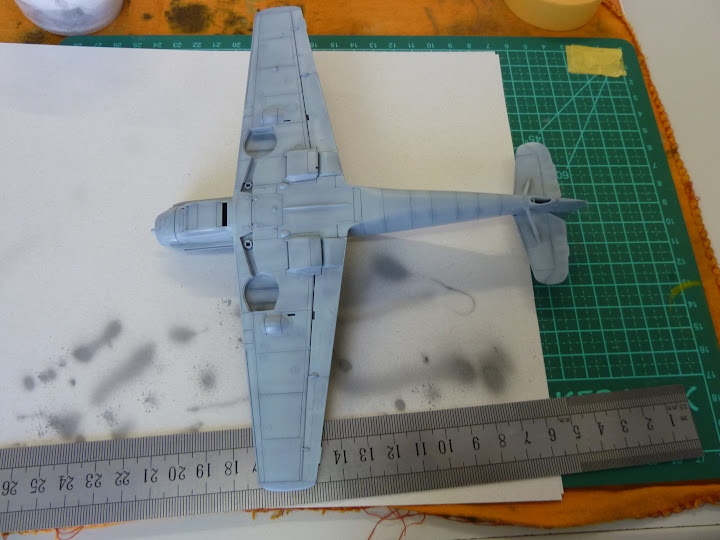 Bf-109 E-3 Tamiya 1/48 - Reforma pintura P1020465