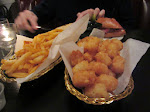 As were the garlic fries and the Tater tots
