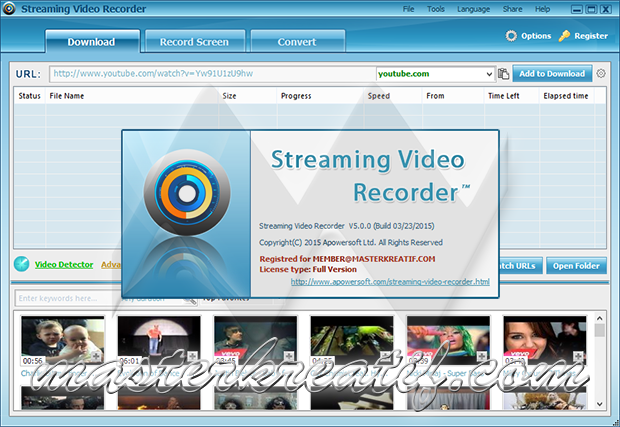 Streaming Video Recorder v5.0.0