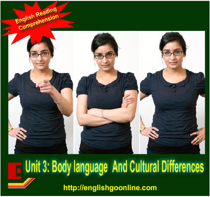 cultural differences in body language Body language is proven to communicate a large part of a message however, be aware of the cultural differences to avoid confusion.