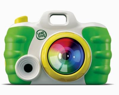 Máy ảnh của bé LeapFrog với màu sắc và thiết kế ngộ nghĩnh cho bé yêu