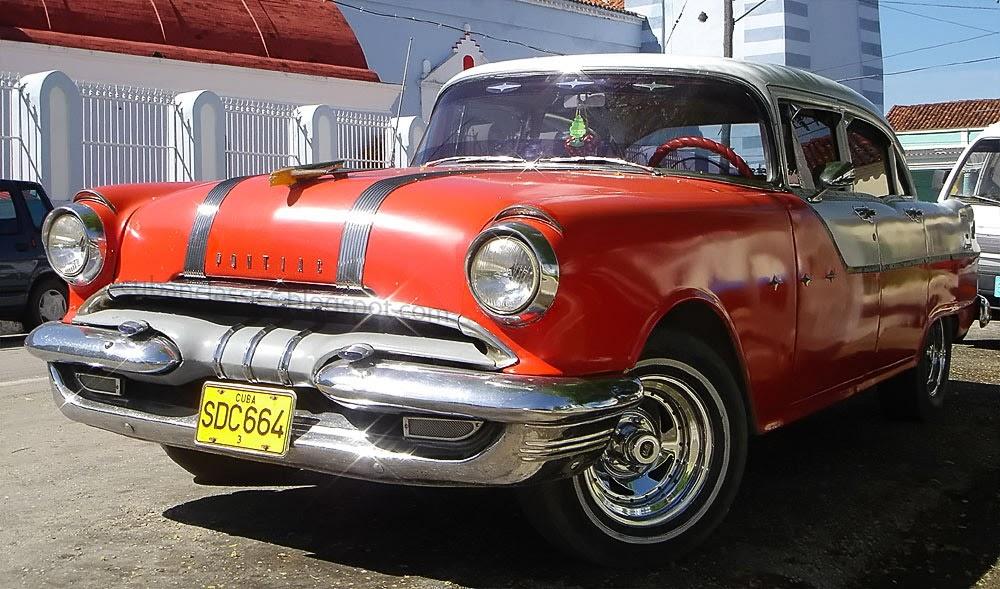 1955 pontiac star chief 4 door sedan cubanclassics for 1955 pontiac chieftain 4 door