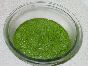 Spinach-Walnut Pesto
