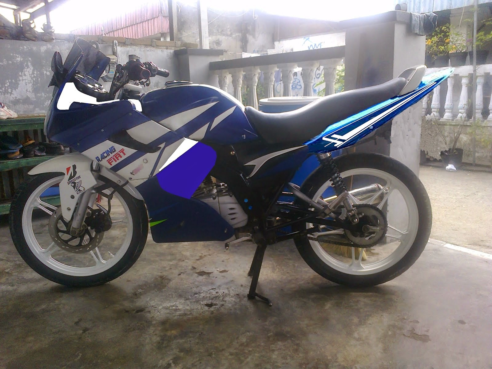 Thunder Modifikasi Sport