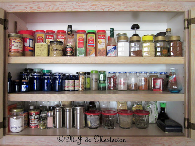 The Elegantly-Arranged Kitchen Cupboard/Pantry