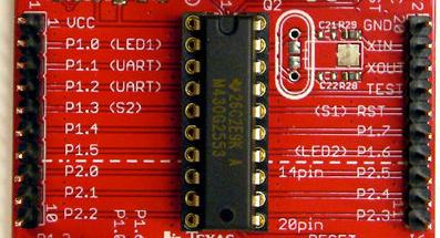 Tổng quan phần cứng MSP430 | Vi mạch - Diễn đàn Vi Mạch, Hệ Thống