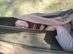 hammock reading