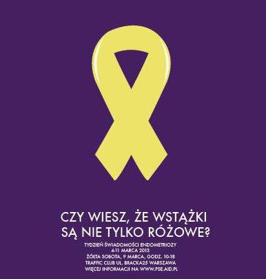 Gościnnie, Wspieram Żółty Tydzień Świadomości !! Dziewczyny jesteśmy razem!