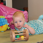 LePort Private School Irvine - Baby tummy time at Montessori daycare