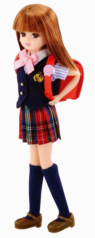 Licca tự tin tới trường cùng bộ cặp sách đi học rực rỡ