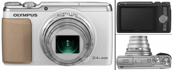 Olympus STYLUS SH-50 iHS, Long Zoom Compact Camera with 5-Axis Video Stabilization