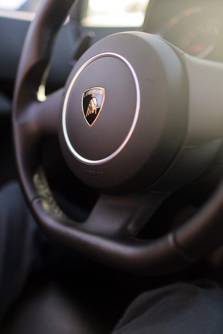 Driving Lamborghini Las Vegas.